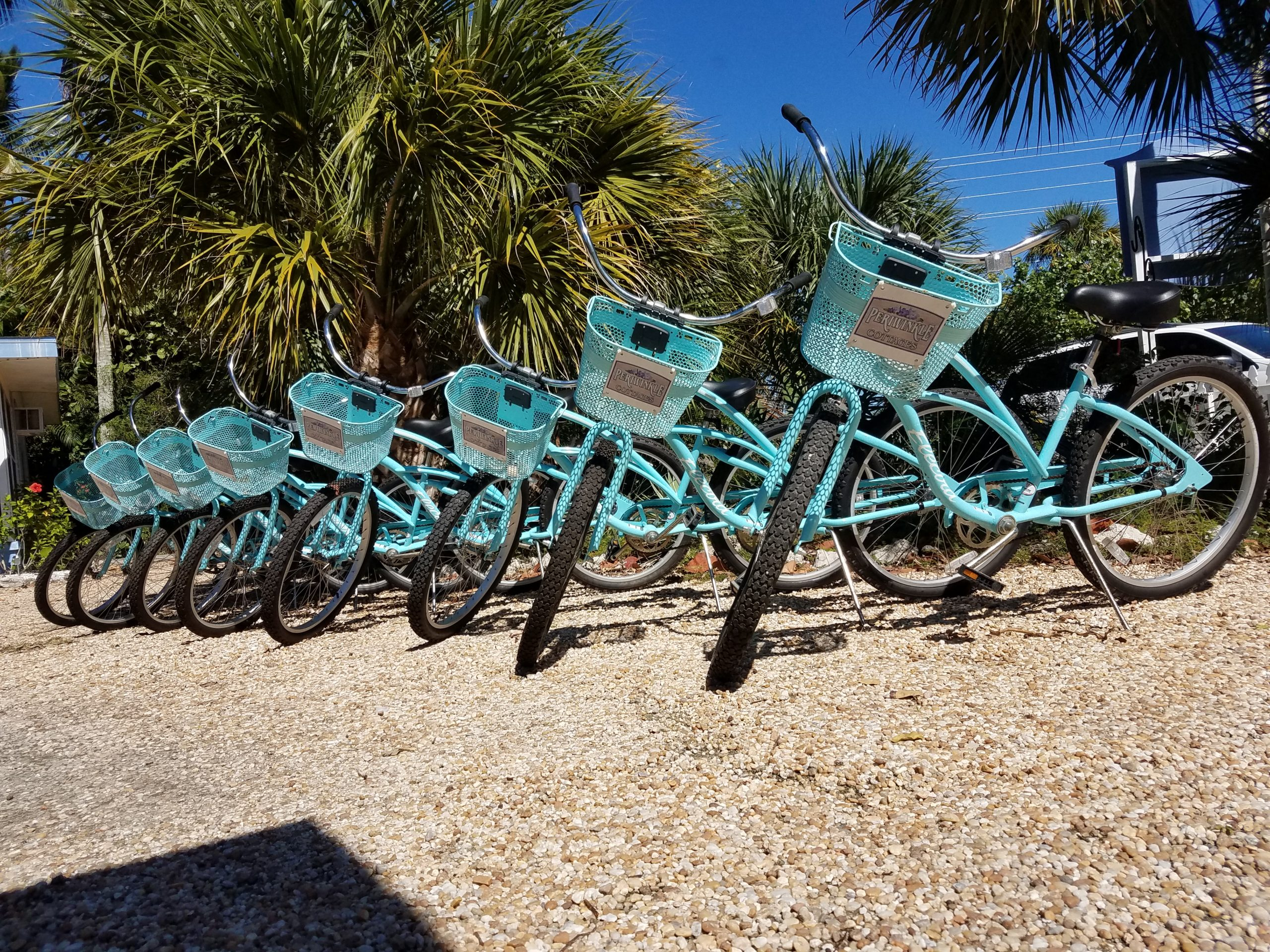 Periwinkle Cottages, Sanibel Island Bikes