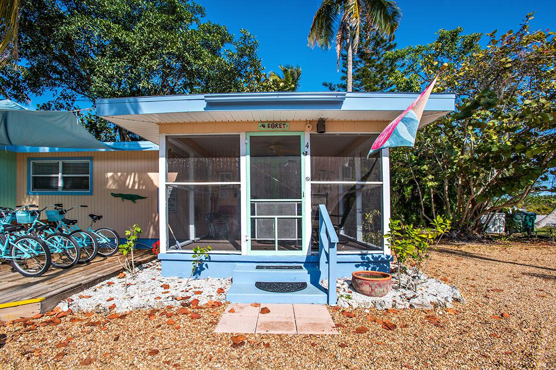 Sanibel Periwinkle Cottages - The Egret Cottage