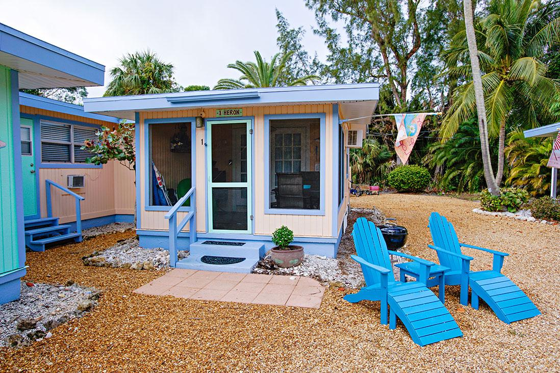 Sanibel Periwinkle Cottages - The Heron Cottage