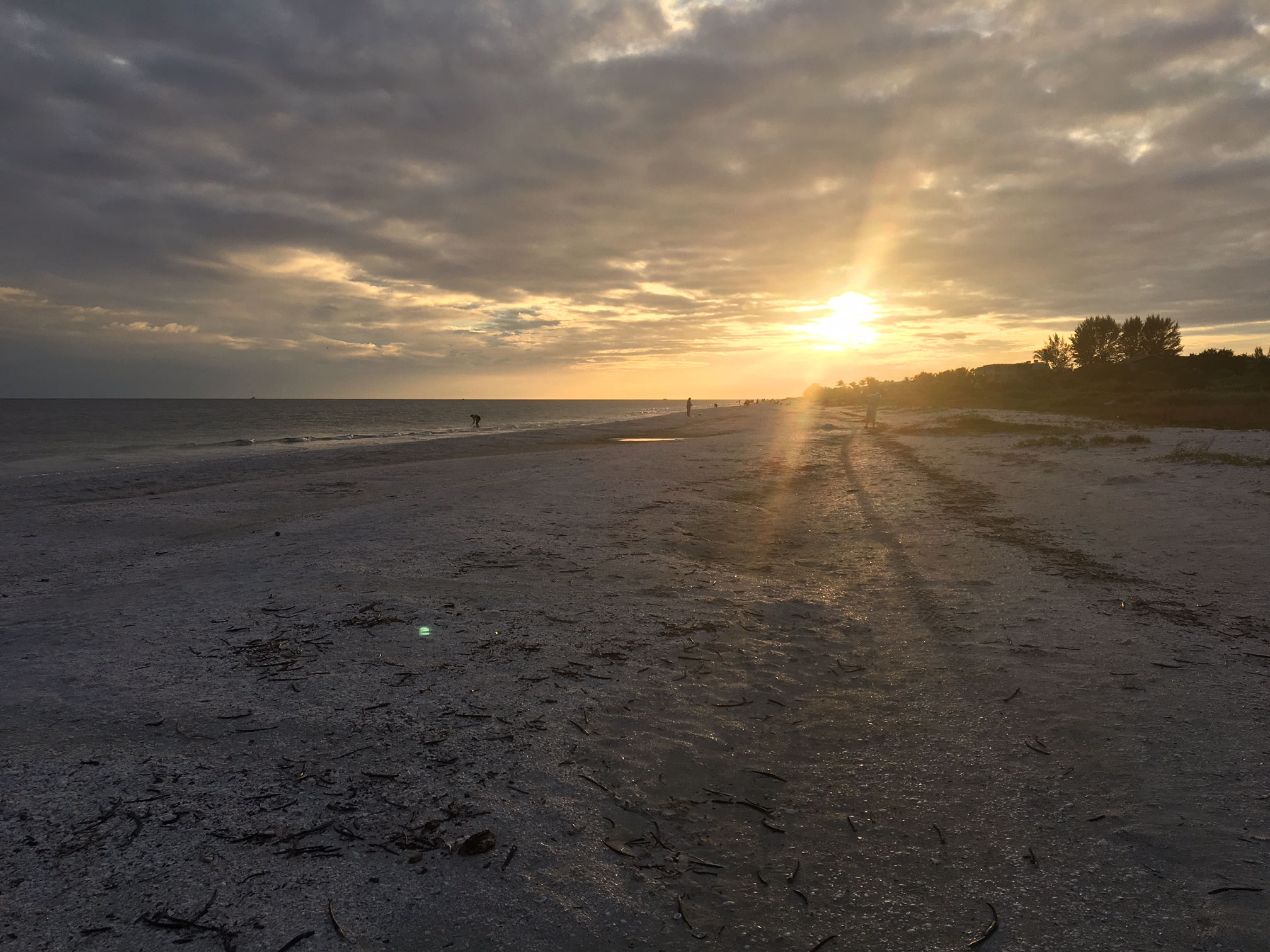 Sanibel Sunset at Periwinkle Cottages