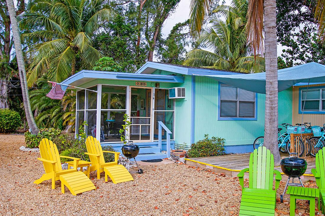 Sanibel Periwinkle Cottages - The Ibis Cottage